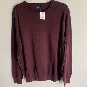 J. Crew Factory Sweaters - J. Crew Factory Harbor Cotton Crewneck Sweater